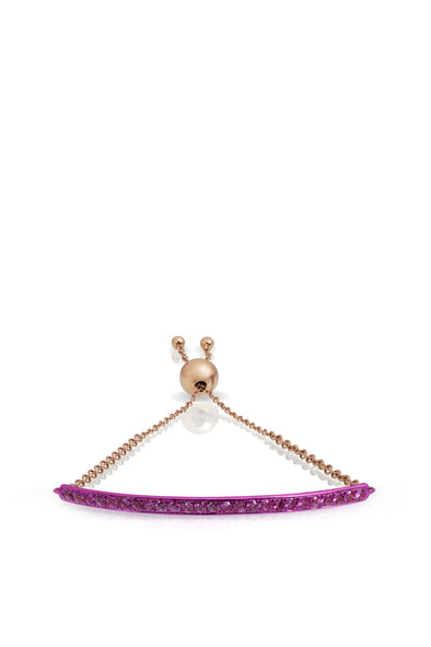 Bridge Bracelet in Fucsia