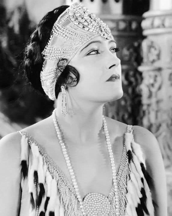 Gloria Swanson muse of Narcisse Noir by Caron