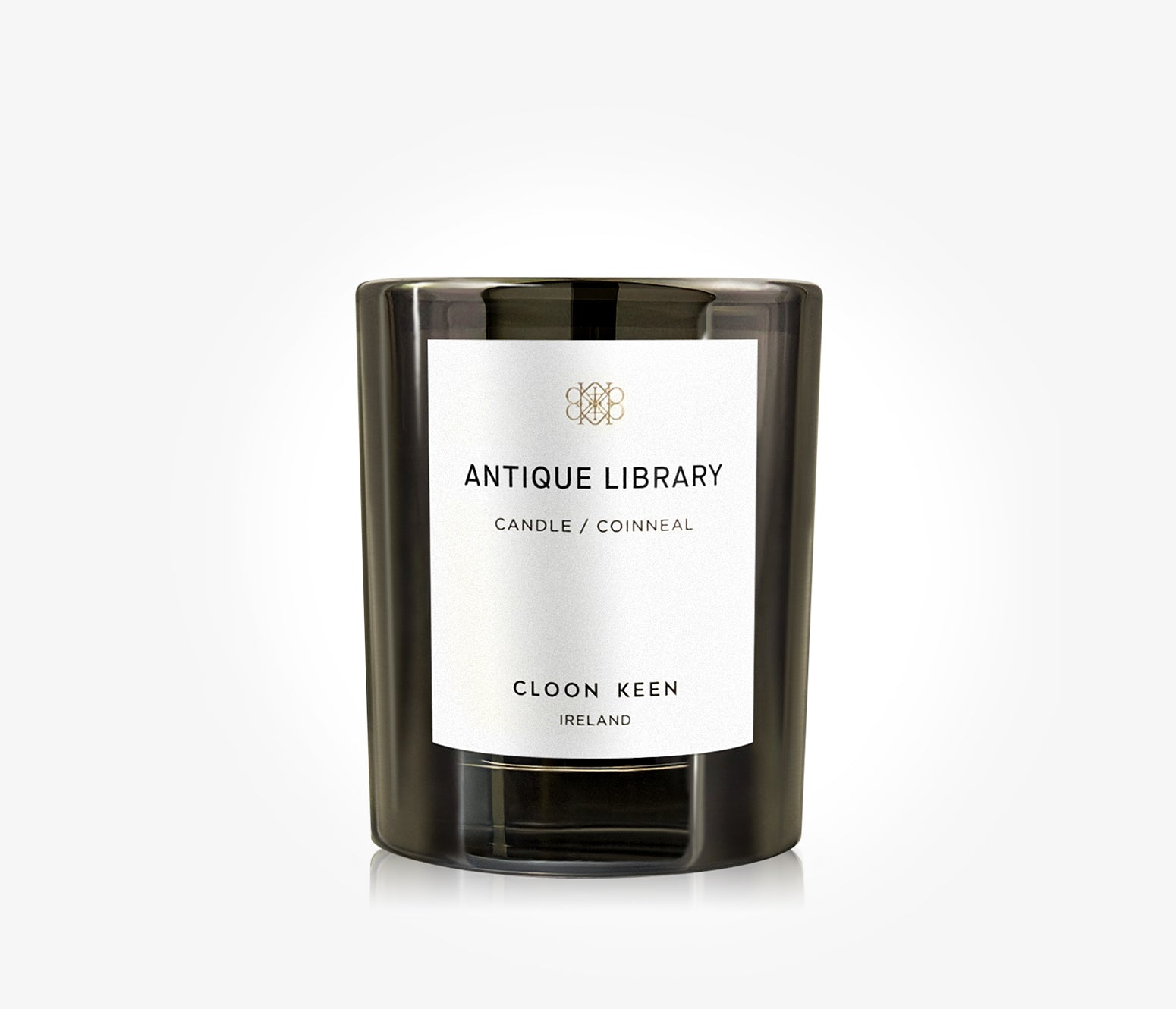 Antique Library Candle