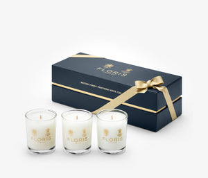 Floris - Luxury Miniature Candle Trio - 3 x 70g - LDB5114 - product image - Candle - Les Senteurs