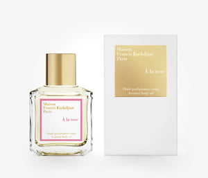Maison Francis Kurkdjian - À La Rose Scented Body Oil - 70ml - PHO001 - product image - Body Oil - Les Senteurs