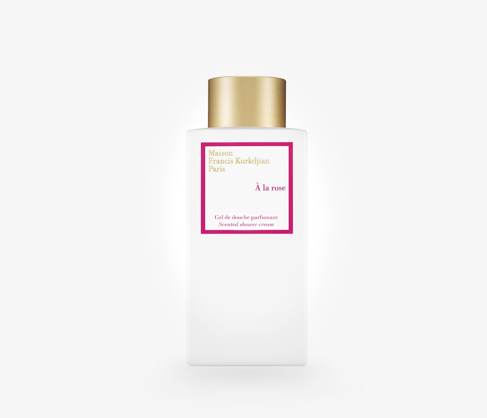 Maison Francis Kurkdjian - À La Rose Shower Cream - 250ml - GKR001 - product image - Body Wash - Les Senteurs