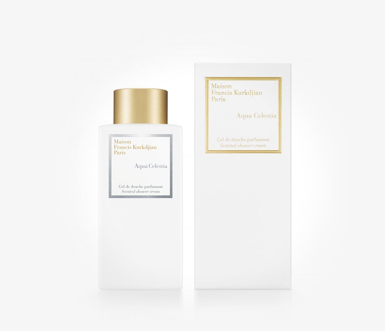 Maison Francis Kurkdjian - Aqua Celestia Scented Shower Cream - 250ml - PTH001 - product image - Body Cream - Les Senteurs