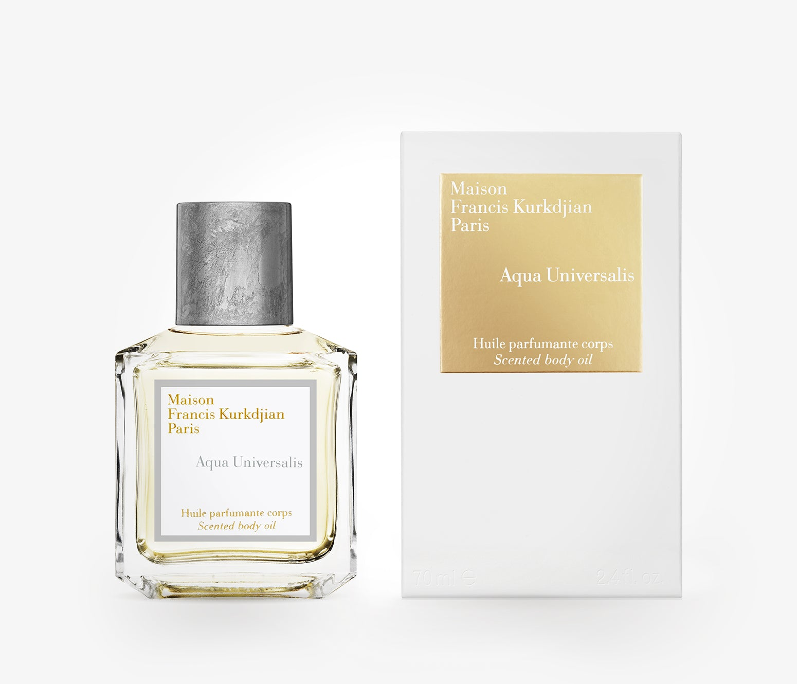 Maison Francis Kurkdjian - Aqua Universalis Scented Body Oil - 70ml - RWC001 - product image - Body Oil - Les Senteurs