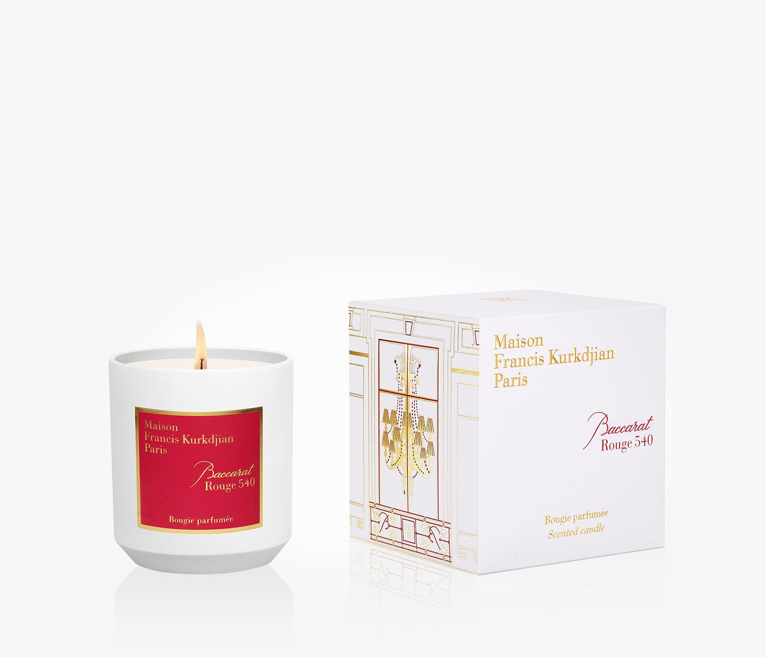 Maison Francis Kurkdjian - Baccarat Rouge 540 Candle - 280g - GBA001 - product image - Candle - Les Senteurs