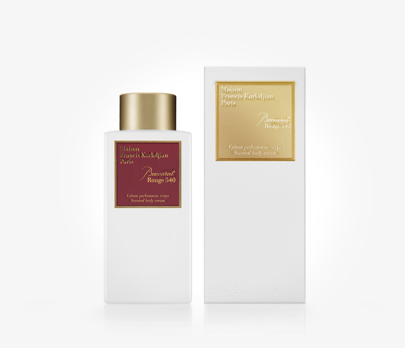 Maison Francis Kurkdjian - Baccarat Rouge 540 Scented Body Cream - 250ml - MCY1300 - product image - Body Cream - Les Senteurs