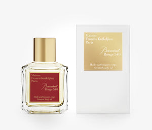 Maison Francis Kurkdjian - Baccarat Rouge 540 Scented Body Oil - 70ml - LVA001 - product image - Body Oil - Les Senteurs