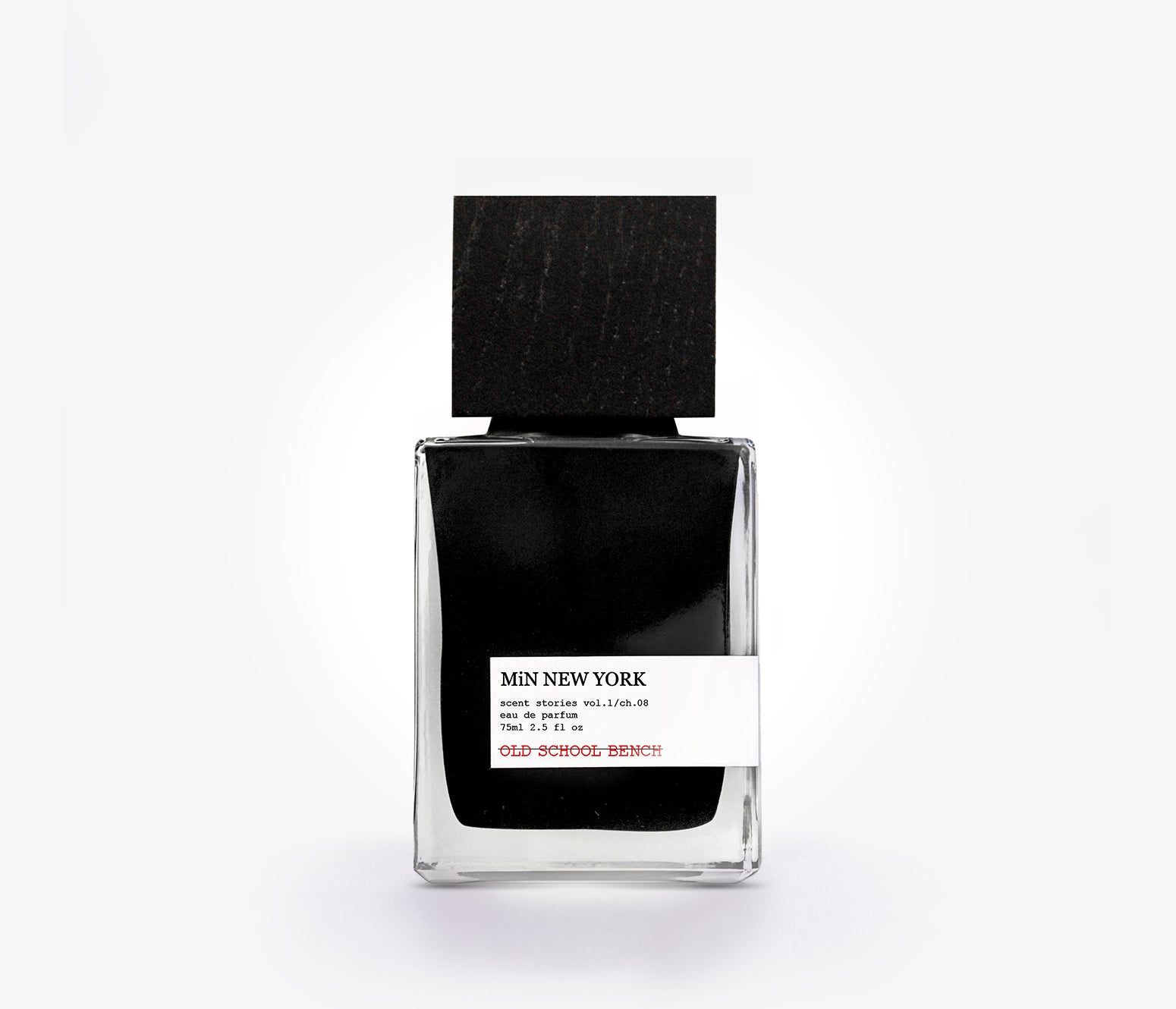MiN New York - Old School Bench - 75ml - BNG001 - product image - Fragrance - Les Senteurs