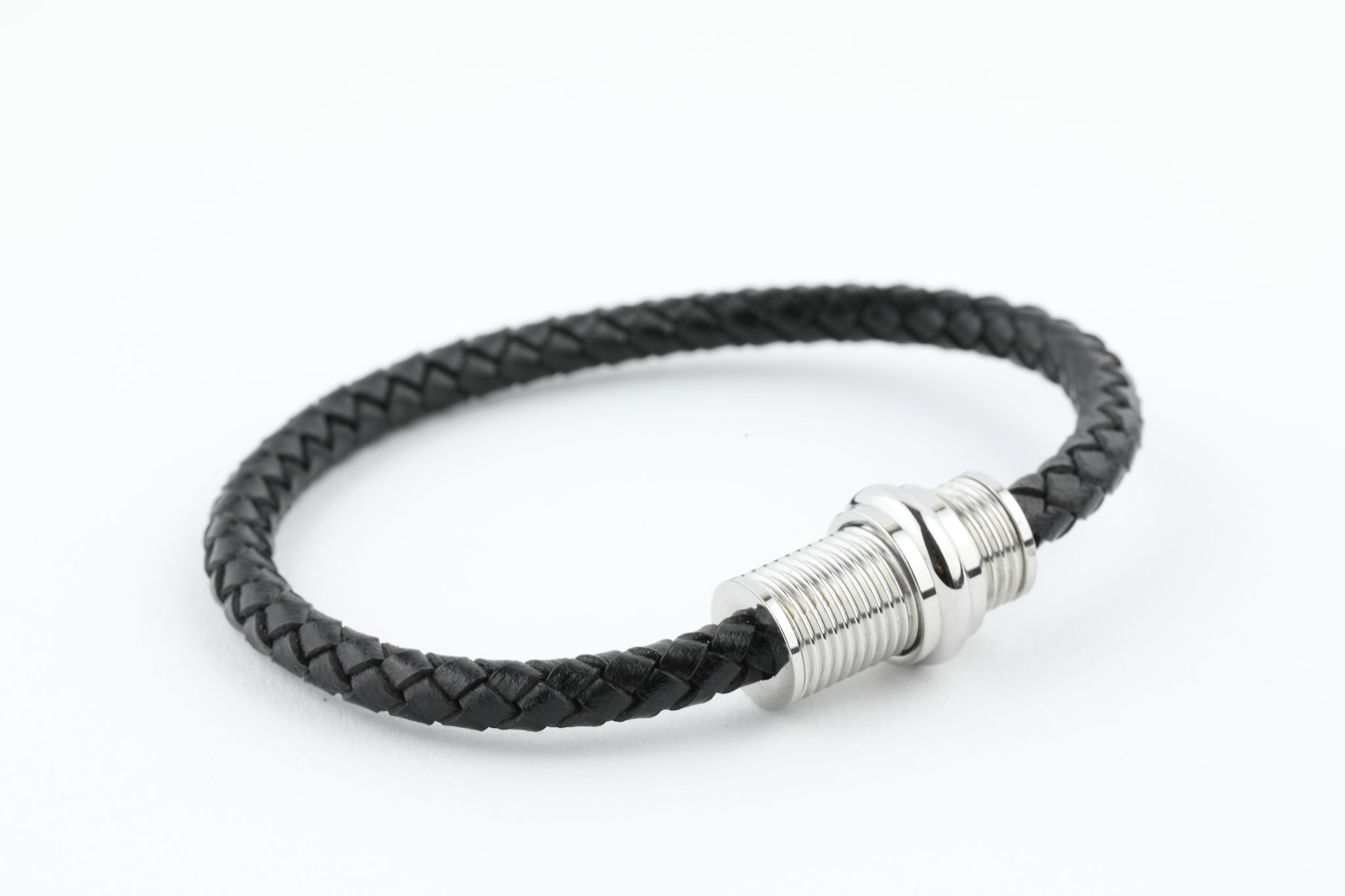 bracelets products bracelet ankle anklet leather clasp charm magnetic mens steel stainless
