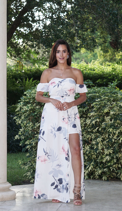 Maxi Dress with Shorts