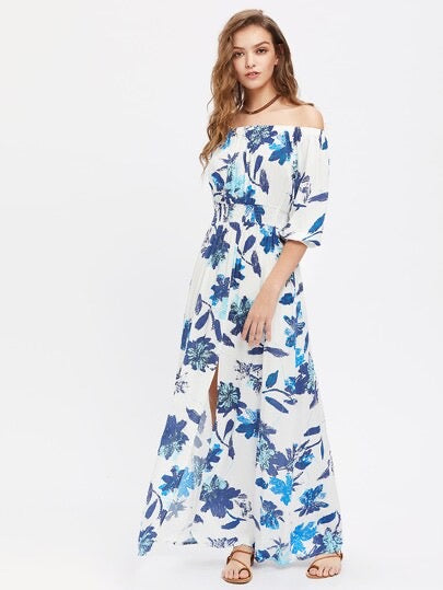 Floral Cover Up Dress