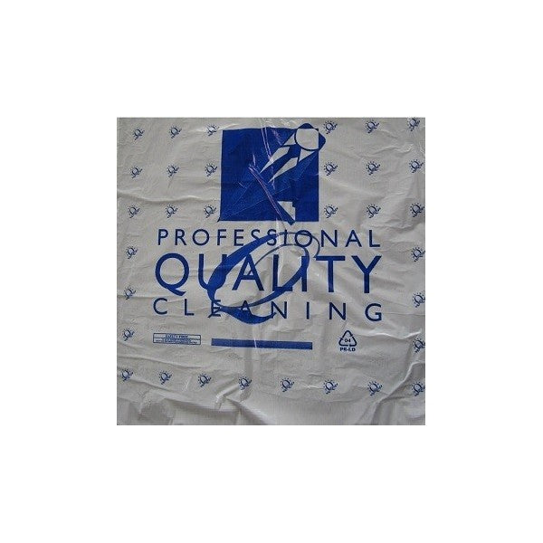 12.5 Polythene Garment Rolls - SD Blue Perforated 100G - All Size