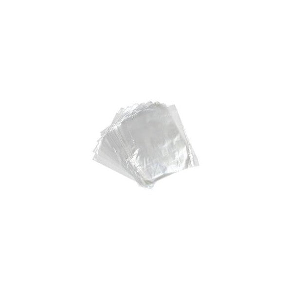 Clear 100 Gauge Bags - Box Of 500