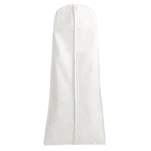 Single White Breathable Wedding Gown Dress Garment Cover Bag