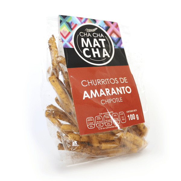 Churritos de Amaranto con Chipotle