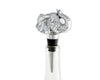 Arthur Court Designs Aluminum Elephant Wine Bottle Stopper / Wine Saver 6 Inch Tall