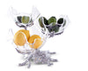 Grape Acrylic Bowls 3-Tiered Stand