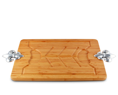 French Lily Carving Board