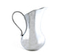 Arthur Court Scallop Pitcher made of Sand-Cat Aluminum Modern Style Water / Juice Pitcher 10 inches Tall