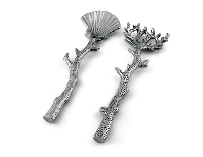 Shell and Sea Life Serving Set