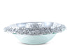 "Arthur Court Designs Aluminum Grape 14""Tray with Glass Chilling Bowl"