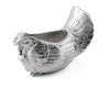 "Arthur Court Designs Aluminum Turkey Gravy Sauce Boat / Condiment Bowl 9.5"" Long"