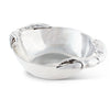 "Arthur Court Designs Aluminum Crab Claws - Metal Coastal Décor 10-1/2"" Centerpiece Bowl"