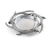 "Arthur Court Designs Aluminum 7"" Diameter Antler Wine Coaster"