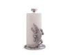 "Arthur Court Designs Aluminum Alligator / Gator / Crocodile  Paper Towel Holder Aluminum Metal 12.5"" Standing Tall on countertop"