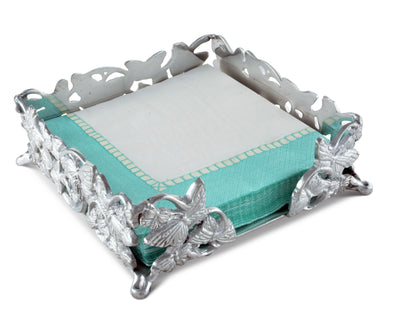 Butterfly Luncheon Napkin Box