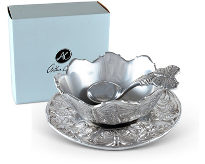 Butterfly Condiment Set 3-piece