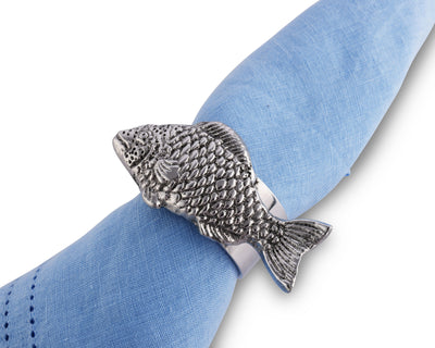 Fish Napkin Rings - set of 4