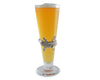 Arthur Court Designs 14oz Pilsner Glass with Aluminum Alligator Plaque