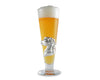 Arthur Court Designs 14oz Pilsner Glass with Aluminum Plated Horse Plaque