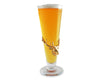 Arthur Court Designs 14oz Pilsner Glass with Gold Plated Elk Head Mount Plaque