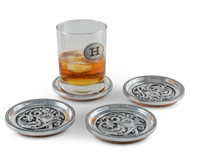 Concho Western Drink Coaster Set of 4
