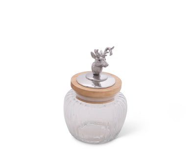 Deer / Elk Glass Canister