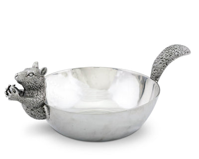 Large Squirrel Nut Bowl