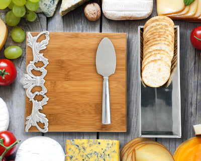Acanthus Bamboo Cheese Set