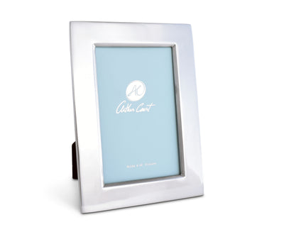 Arthur Court Designs Aluminum 4x6 Engravable Metal Photo Frame