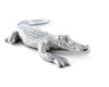 "Arthur Court Designs Aluminum Alligator Large Figurine 12"" Long"