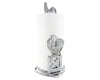 "Arthur Court Aluminum Farmhouse Rooster Country Decorative Countertop Paper Towel Holder Metal 14"" Standing Tall"