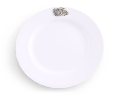 Sea Shell Melamine Lunch Plates - Set of 4