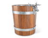 Elk Wood Pail Ice Bucket