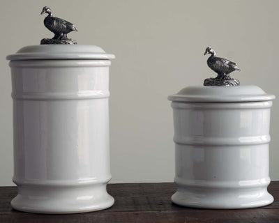 Stoneware Canister - Tall - Duck  Vagabond House