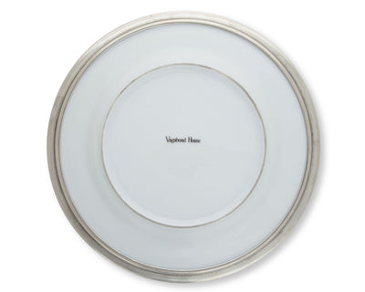 Classic Pewter Rim Dinner Plate