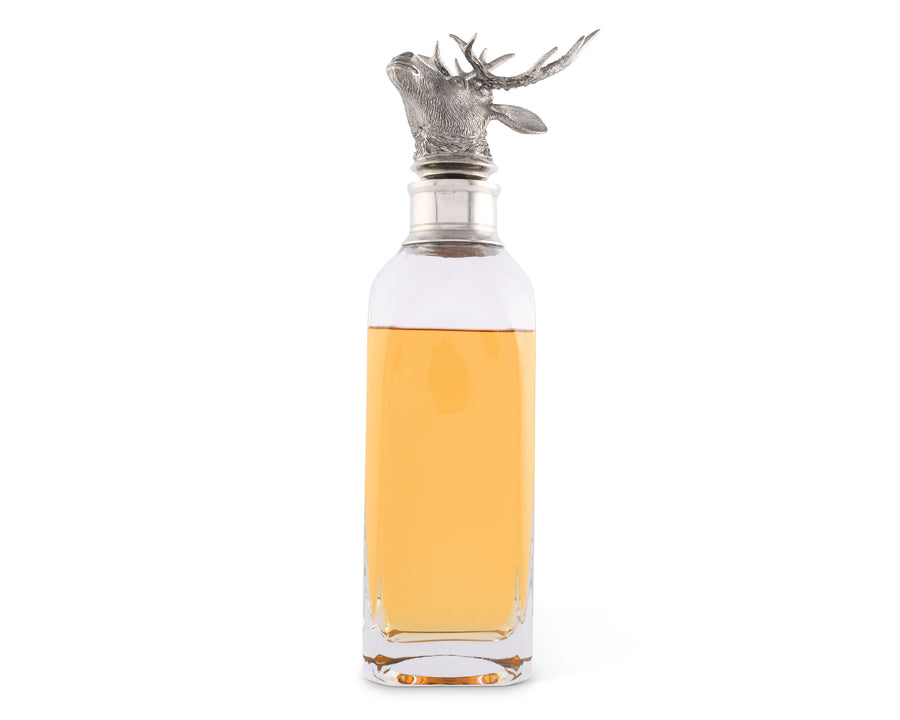 Elk Liquor Decanters - Wide  Vagabond House