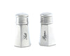 "Vagabond House Pewter Vintage Salt and Pepper Shaker Set 3"" Tall"