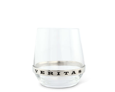 In Vino Veritas Stemless Red Wine Glass