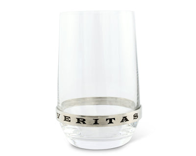 In Vino Veritas Stemless White Wine Glass